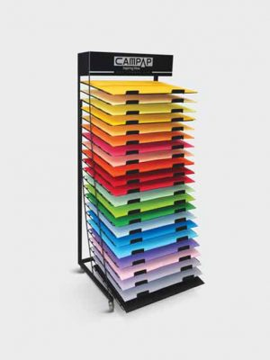 Campap Fit Colour Card Display Stand DSC22