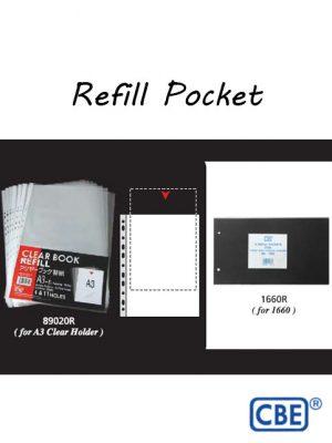 CBE Refill Pocket